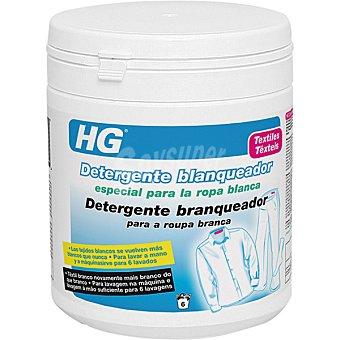 HG detergente blanqueador especial para la ropa blanca para lavar a mano o a máquina bote 400 ml
