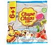 Caramelos duros de sabores surtidos sin azúcar Bolsa 6 uds (66 g) Chupa Chups