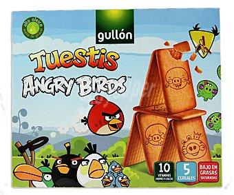 Gullón Galletas Tuestis Angry Birds Caja 400 g