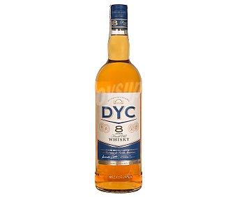 Dyc Whisky finest old de 8 años, destilado y embotellado en España Botella de 1 l