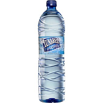 Lunares Agua mineral natural con gas Botella 50 cl