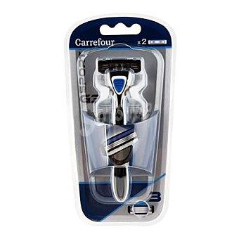 Carrefour Maquinilla de afeitar 3 hojas G3 sport 1 ud