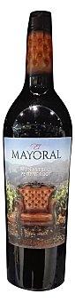 Mayoral Vino tinto monastrell petit verdor  Botella de 75 cl
