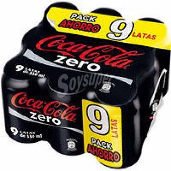 Mbcoca-Cola Zero P9x 0 33 L