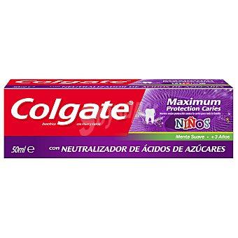 Colgate Pasta dentífrica kids máxima protección anticaries Tubo 50 ml