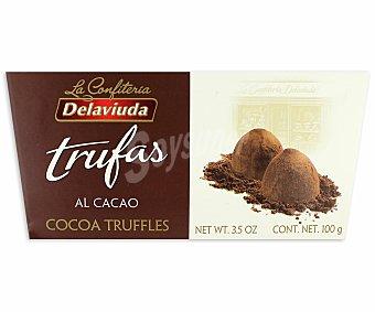 Delaviuda Trufas al cacao, 100 gramos