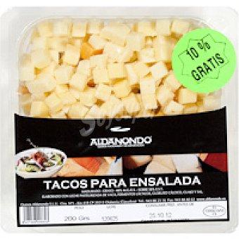 Aldanondo Taquitos de queso para ensalada Bandeja 200 g