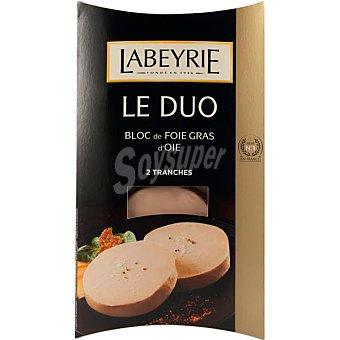 LABEYRIE Le Duo bloc de foie gras de oca  envase 80 g