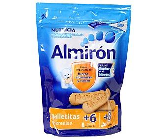 ALMIRÓN Galletitas con 6 cereales para bebés a partir de 6 meses en biberón y a partir de 8 meses entera 125 gramos