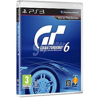 PS3 Videojuego Gran Turismo 6  1 unidad