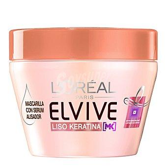Elvive L'Oréal Paris Mascarilla con serum alisador Liso Keratina 300 ml
