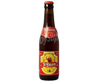 Te Deum Cerveza tipo abadía roja belga Botella 33 Centilitros