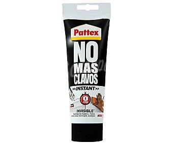 PATTEX No Tubo de 200 gramos de adhesivo de montaje con acabado invisible No más clavos instant mas clavos instant
