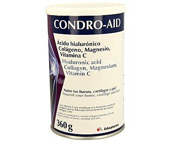 CONDRO-AID Complemento alimenticio a base de ácido hialurónico, colágeno, magnesio y vitamina C que ayuda a nutrir tus huesos, cartílagos y piel 360 gramos