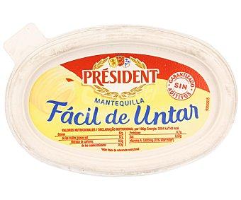 PRESIDENT Mantequilla facil de untar tarrina 250 g