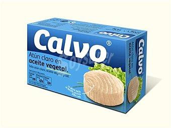 Calvo Atún claro en aceite vegetal 143 g