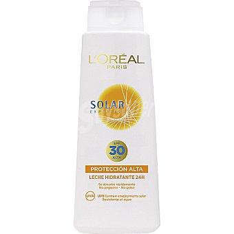 Solar Expertise L'Oréal Paris leche solar hidratante 24h FP-30 resistente al agua frasco 400 ml
