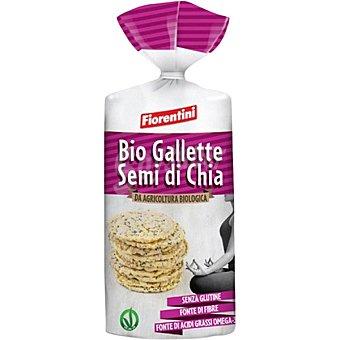 Fiorentini Tortitas de maíz con chía sin gluten ecológicas bolsa 00120 g