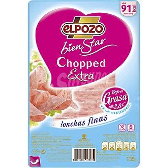 ElPozo Bienstar chopped extra en lonchas finas  envase 135 g