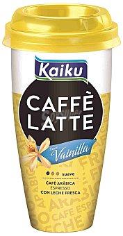 Kaiku Café Latte toque vainilla 230 ml.