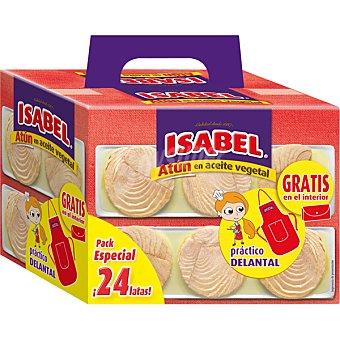 Isabel Atún en aceite vegetal 24 latas de 52 g