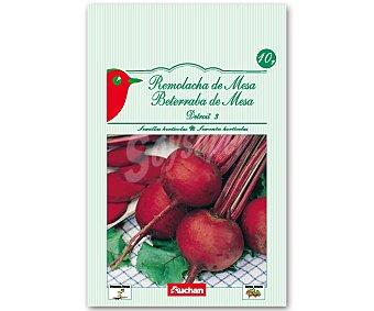 Auchan Semillas para sembrar remolachas de mesa de la variedad Detroit 15 Gramos