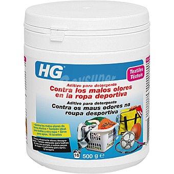 HG aditivo para detergente contra los malos olores en la ropa deportiva bote 400 ml