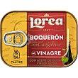 Boquerones del Cantábrico al vinagre elaborados a mano con aceite de oliva virgen extra Lata 55 g neto escurrido Lorea