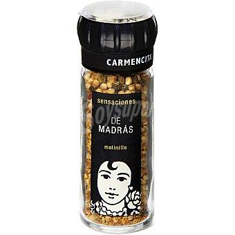 CARMENCITA SENSACIONES de Madrás sazonador para verdura molinillo Frasco 48 g
