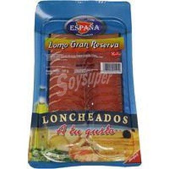 E. ESPAÑA Lomo gran reserva Sobre 100 g