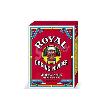 Royal Levadura en polvo pack de 6 sobres x 16 g (96 g)
