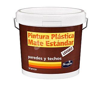 BRUGUER Pintura plástica lavable de interior para paredes y techos color blanco mate 10 litros