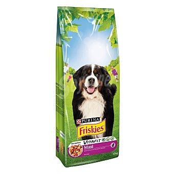 Friskies Purina Comida para perros Maxi con Carnes 15 kg