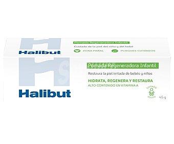 Halibut Pomada regeneradora de la piel irritada, especial para la piel del niño y del bebe 45 g
