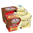 Crema bombón chocolate blanco Pack 4x125 g Clesa