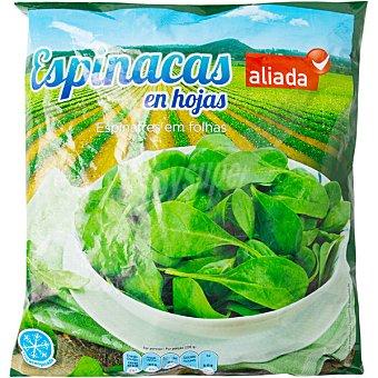 ALIADA Espinacas en hojas Bolsa de 1 kg