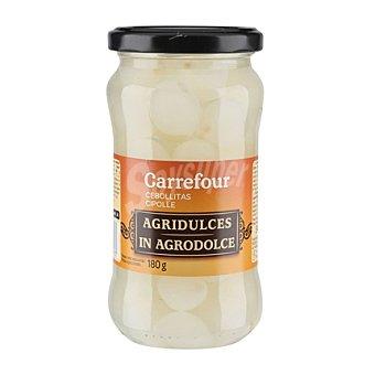 Carrefour Cebollitas agridulces 180 g