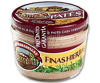 Casa Tarradellas Paté a las finas hierbas Tarro 125 g