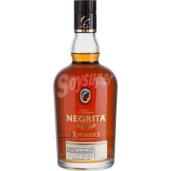 Bardinet Ron añejo Negrita Top Series botella 70 cl