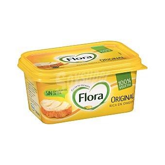 Flora Tarrina de margarina original, con sabor suave y enriquecida con omega 3 y 6 500 gr