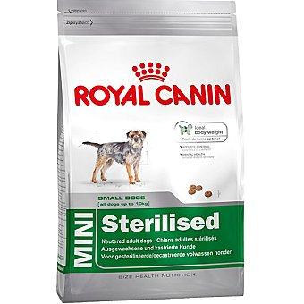 ROYAL CANIN MINI STERILISED Alimento especial para perros esterilizados de tamaño mini bolsa 2 kg Bolsa 2 kg
