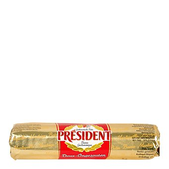 President Mantequilla rulo 250 g