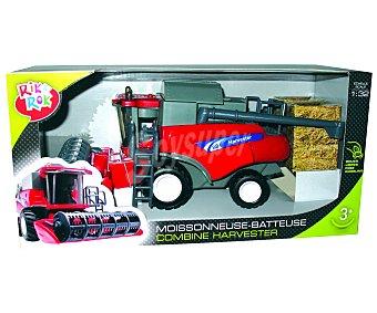 Rik&Rok Auchan Tractor cosechadora a escala 1:32 1 unidad