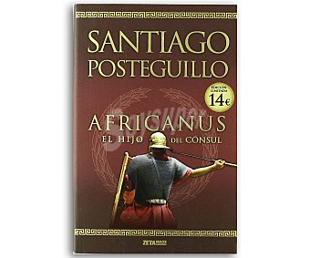 Zeta Africanus. El hijo del cónsul, santiago posteguillo, bolsillo, género: novela histórica, editorial bolsillo