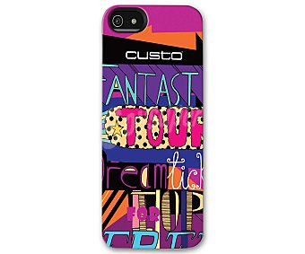 CUSTO Carcasa para iPhone 5 Fantastic Tour 1 unidad