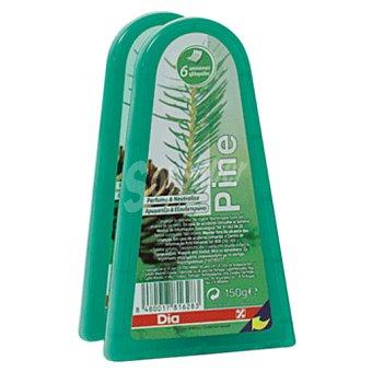 DIA Ambientador-neutralizador aroma pino barqueta 2 uds
