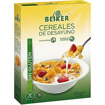 Beiker Cereales de desayuno sin lactosa sin gluten Envase 250 g