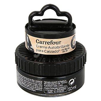 Carrefour Crema autobrillante c/aplicador negro 50 ml
