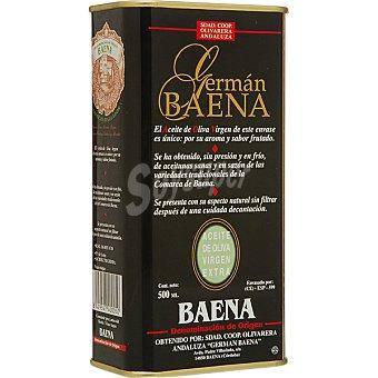 German baena Aceite de oliva virgen extra Lata 500 ml