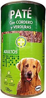 Bobby Comida perro adulto pate cordero verdura Bote 1200 g
